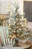 Snow Lit Tree w/ Cast Iron Stand | 24