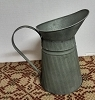 Tin Pitcher 9