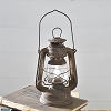 OLD RUSTY LED LANTERN