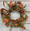 Mixed Autumn Wreath-6.5