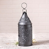 15-Inch Primitive Lantern in Smokey Black