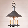 Smethport Hanging Lamp in Antique Tin