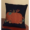 Pumpkin & Acorns Pillow