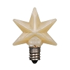 Warm Silicone Star Bulb - Medium - 1.5 inch - 3 watts