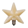 Warm Silicone Star Bulb - Large - 3 inch - 3 watts
