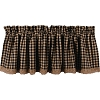 Heritage House Lace Valance Black