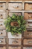 New England Boxwood Candle Ring | New Green