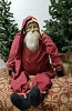 Sitting Santa with Union Suit