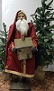 Tall Santa with Dollhouse