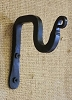 Wrought Iron Hook Forged Single