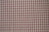 FARMHOUSE CHECK VALANCE CRANBERRY/TAN