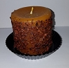Banana Nut Bread Pillar Candle 3 x 3
