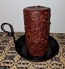 Brown Sugar Pillar Candle 3 x 6