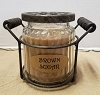 Brown Sugar Potpourri Jar Candle