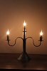 Three Light Candelabra