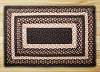 C-313 Mocha/Frappuccino Braided Rug Rectangle