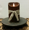 Colonial Flameless Candle Chocolate 5