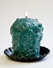 Oversized Votive  - Christmas Tinsel