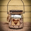 Cinnamon Red Hearts Handle Jar Candle