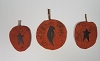 Set of 3 Primitive Pumpkins