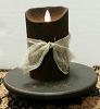 Colonial Flameless Candle Ebony 5