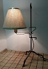 Table Lamp with Flame Tip