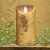 3×6 REAL LOOK FLAMELESS TIMER CANDLE-CREAM