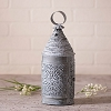 Baker's Lantern in Weathered Zinc
