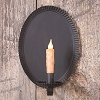 Oval Tinner's Sconce