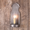 Monroe Sconce in Smokey Antique Tin