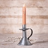 Candle Stand in Antique Tin