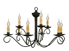 Washington 2-Tier Wrought Iron Chandelier