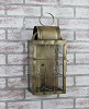 Danbury Medium Wall Lantern Antique Brass