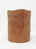 4IN GRUNGY DRIP LED PILLAR CANDLE RUST TIMER