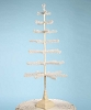 Ivory Feather Tree with Glittered Base 42