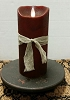 Colonial Flameless Candle Mahogany 7