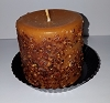 Orange Clove Pillar Candle 3 x 3