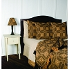 Smithfield Jacquard Pillow cover Black-Nutmeg