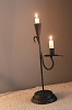 Iron Double Candleholder