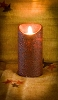 Real Look Flameless Battery Timer Candle-Pumpkin