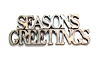 Season's Greetings Wall Plaque-21.75