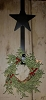 Star Exterior Door Wreath Holder
