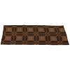 Smithfield Jacquard Table Runner Black-Nutmeg