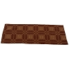Smithfield Jacquard Table Runner Barn Red-Nutmeg
