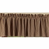 York Ticking Valance Barn Red