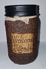 Faith Hope Love Maple Sugar Pecan Jar Candle
