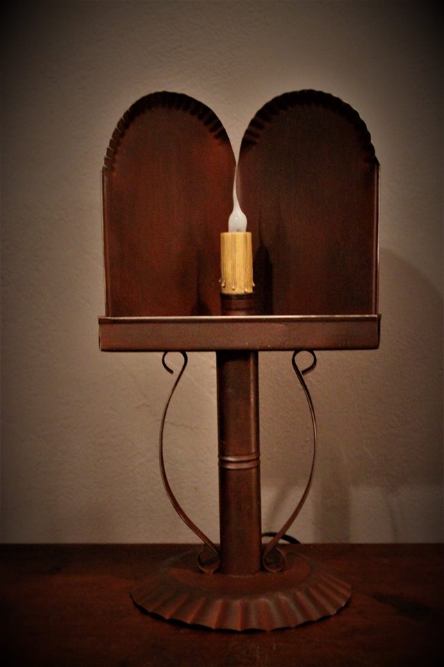 William mary table lamp