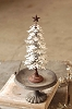 Snowy Metal Tree | Galvanized | Medium