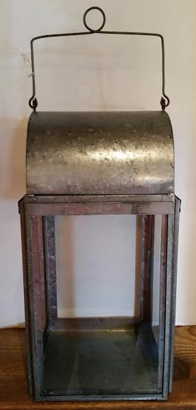 Galvanized Tin Lantern