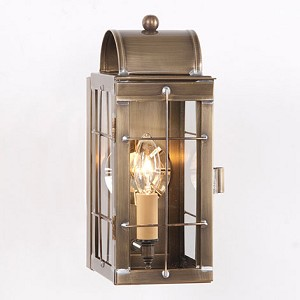 Cape Cod Wall Lantern Weathered Brass